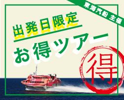 東海汽船主催お得ツアー